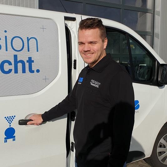 Mitarbeiter Frederik Ditscheid